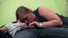 Insatiable plumper has a hung dude pounding the hell out of her peach