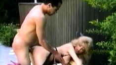Desirable Mature Lady With Big Boobs Gets Pounded In The Ass Outside