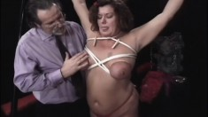 Kinky Mature Housewife With Big Boobs Is Addicted To Pain And Pleasure