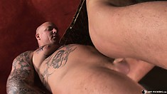 This video contains many great things including Cum Fucking Skinheads #02