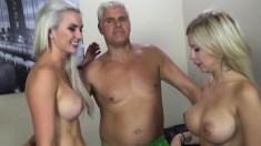 Big breasted chicks with great oral skills enjoy getting banged hard