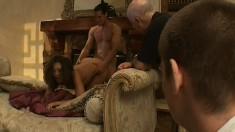 Nick Manning Thrusts His Cock Deep Down Into Beautiful Francesca