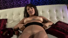 Stunning Brunette With A Heavenly Ass Mena Li Knows What A Cock Needs