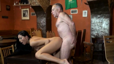 Violated by daddy Can you trust your girlally leaving her
