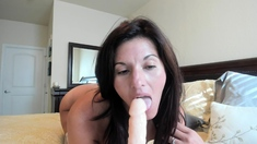Hot milf Bonny Bon fisting and toying her friend wet cunt