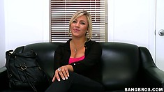 Pleasing wannabe is going to bang the fuck out of this cock today